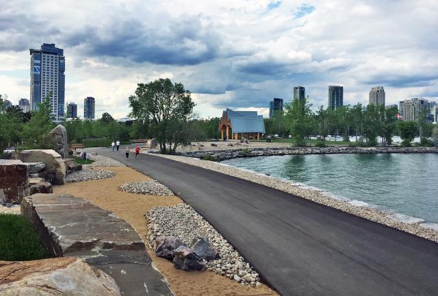 Trillium Park, Ontario Place. Photo by Stefan Novakovic