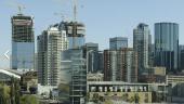 Edmonton's growing downtown skyline. Smart Cities Challenge. Photo by Thankyoubaby via Wikimedia Commons