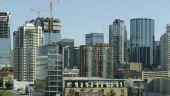 oil. Edmonton's growing skyline. Photo by Thankyoubaby via Wikimedia Commons