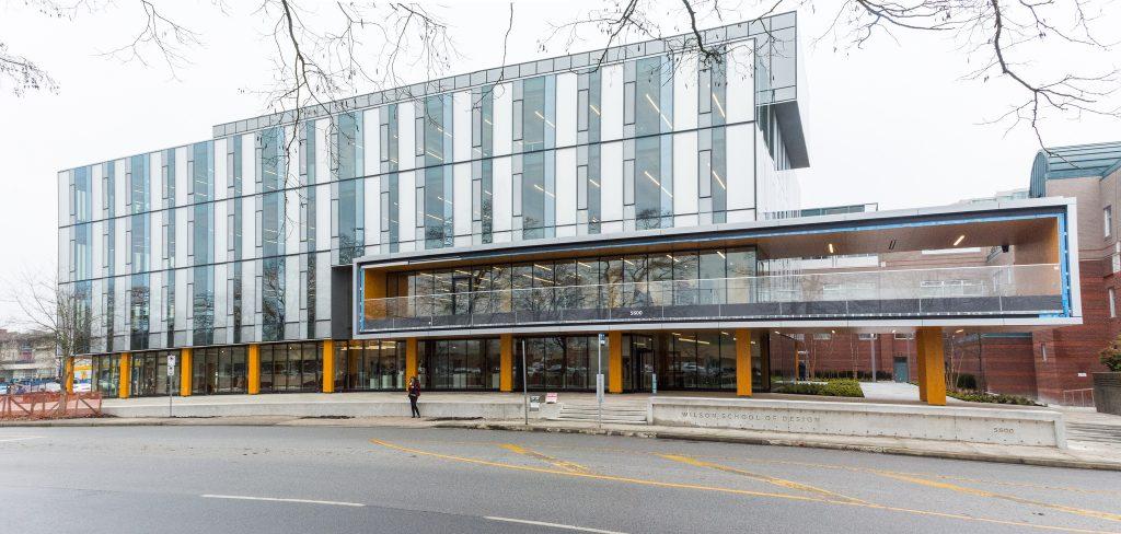 Wilson School of Design on opening day. Photo via Kwantlen University