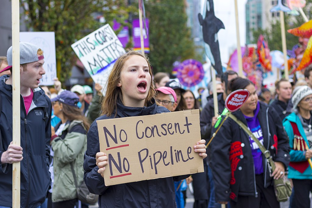 Trans Mountain, Kinder Morgan, Vancouver, protests