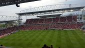 Toronto's BMO field could host World Cup matches in 2026. Photo by Abazz via Wikimedia Commons.