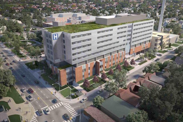 Michael Garron Hospital, Toronto, EllisDon