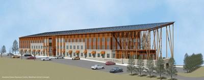 Howland Green Business Centre, Markham (Artist Concept).