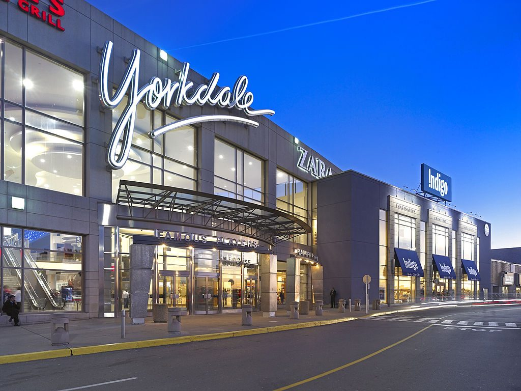 mallls, mall, Ontario, E-commerce, Yorkdale