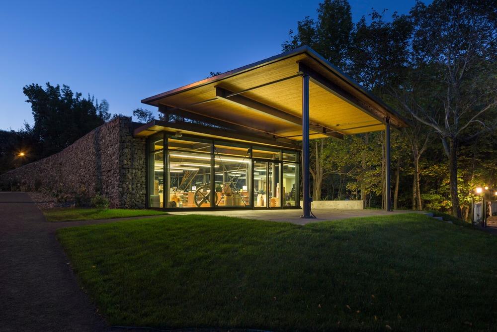 Seigneurie-des-Aulnaies Visitor Centre, Ann Carrier architecture