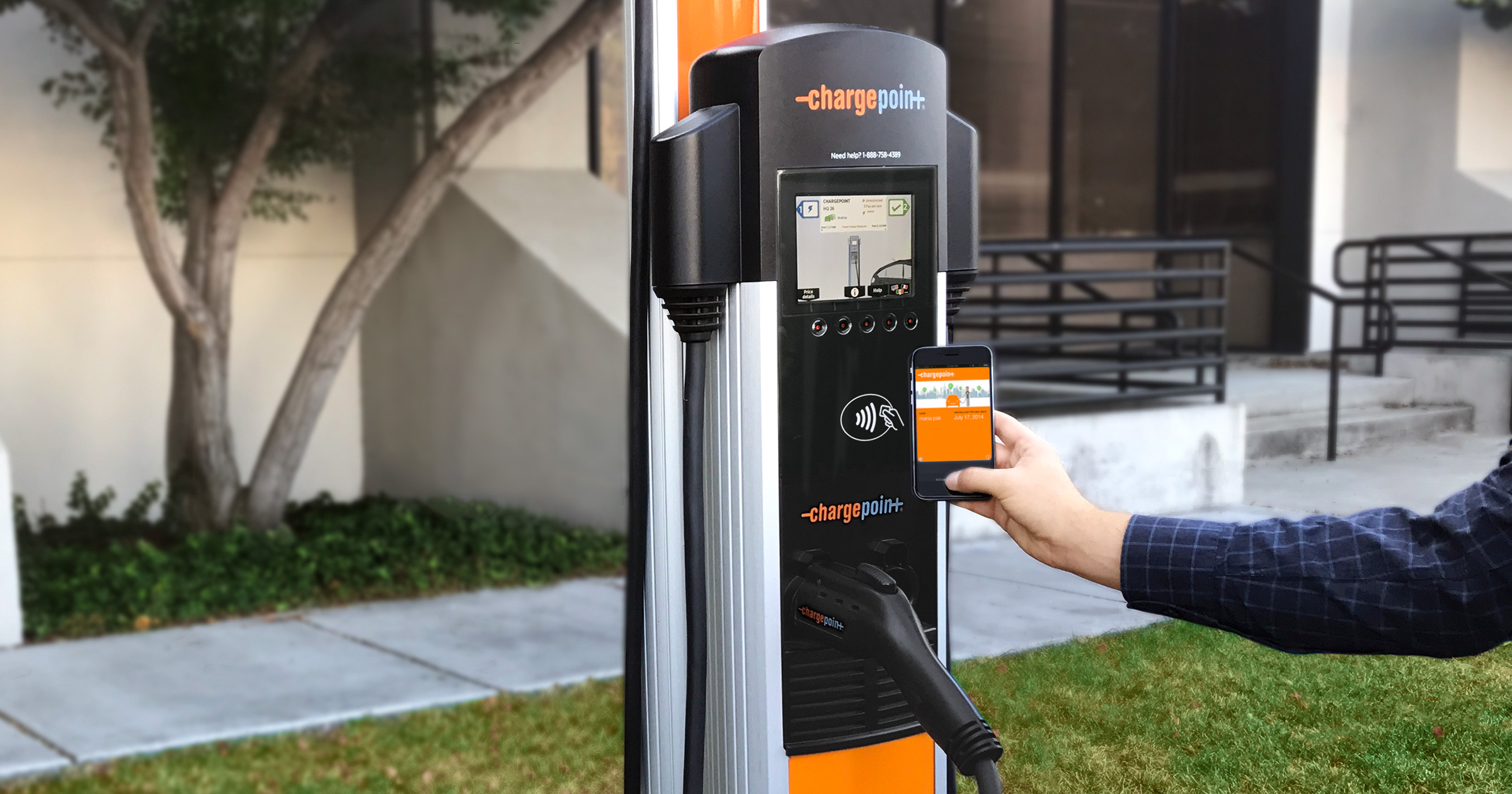Electric Car Charging Stations Locations >> Evse Electric Vehicle Ev Charging Stations Chargepoint