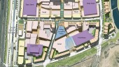 Illustrative plan for Stage One of Rouse Hill Town Centre, Sydney Australia
