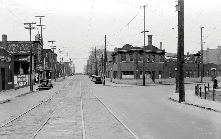 Early life in LeBreton Flats was notoriously rough, even after post-fire redevelopment.