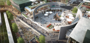 At the north end of Preston Street, the Terminus is intended to become an animated piazza for the mixed-use precinct.