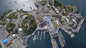 CFB Esquimalt occupies 41 square kilometres at the southern tip of Vancouver Island and is the naval base and home port to Maritime Forces Pacific and Joint Task Force Pacific Headquarters. Photo courtesy of ADM(IE)