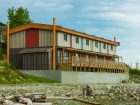 Bella Bella Passive House, Bella Bella. Photo Credit: Wood WORKS! BC – 2017 Wood Design Awards in B.C.