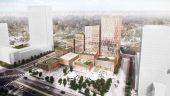 Proposal: Adamson Associates Architects l Henning Larsen Architects l PMA Landscape Architects. Rendering courtesy of Build Toronto.
