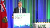 The Hon. Glen Murry, Minister of the Environment and Climate Change - LEAP 2017. Photo: Steve Wilson.
