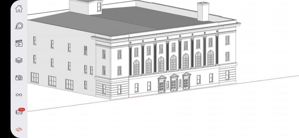 Sketch Picture Windsor Masonic Temple