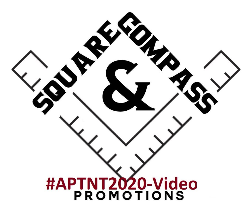 Square & Compass Logo and #APTNT2020