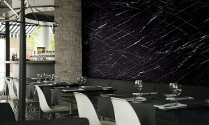 NS804 Cmarquina Black Marble Bodaq Interior Film Pattern - Stone & Marble Collection