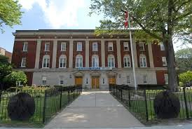 Front Elevation of Windsor Masonic Temple