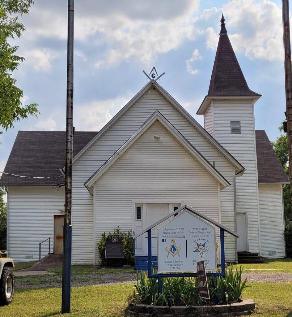 Webb Masonic Lodge Masonic Temple, Arlington, TX (Exterior)