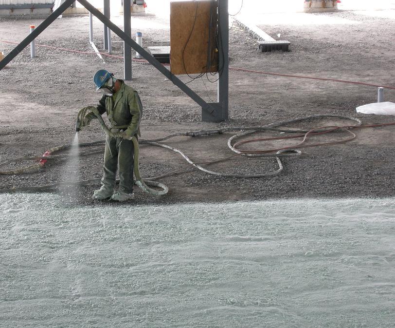 Huntsman Building Solutions Spray Foam Application for Radon in Buildings