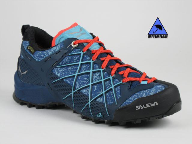 Salewa WILDFIRE GTX Bleu