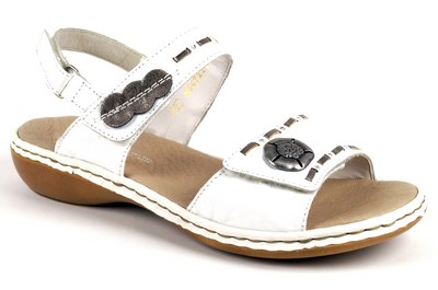 Rieker 65972-81 Blanc