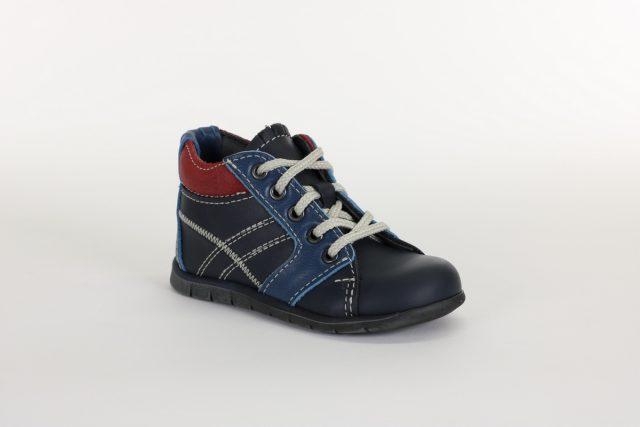 Chaussures Petits Pieds ARTHUR 0-3096-2 Noir