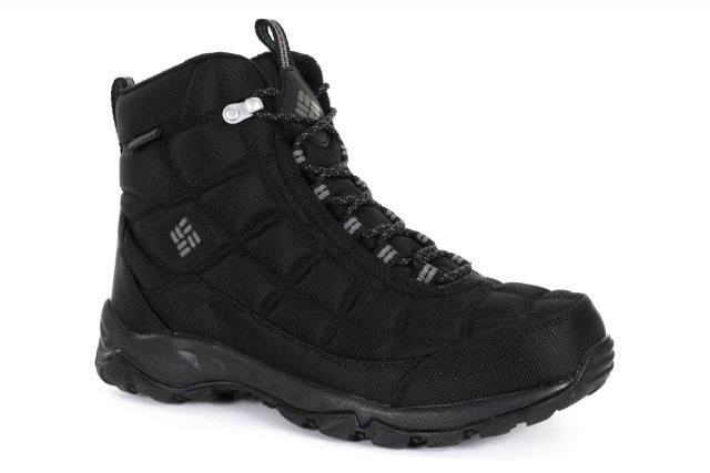 Columbia FIRECAMP BOOT Noir