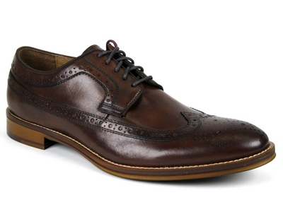 Johnston & Murphy CONARD WINGTIP Brun