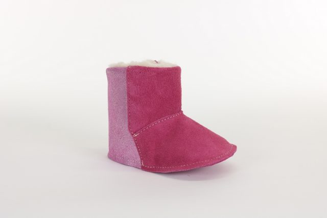 Chaussures Petits Pieds 2-2000-13 WOOL Rose