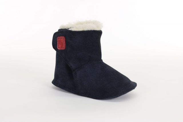 Chaussures Petits Pieds 2-2000-4 WOOL Marine