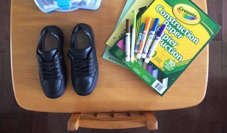 Bien choisir les chaussures pour l'école