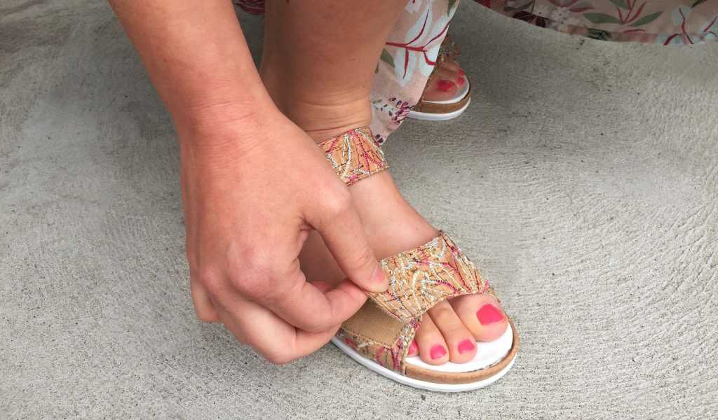 Sandales orthopediques Waldlaufer velcros