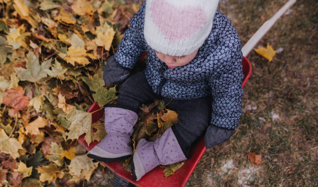 Pantoufles Sherpa automne bébés