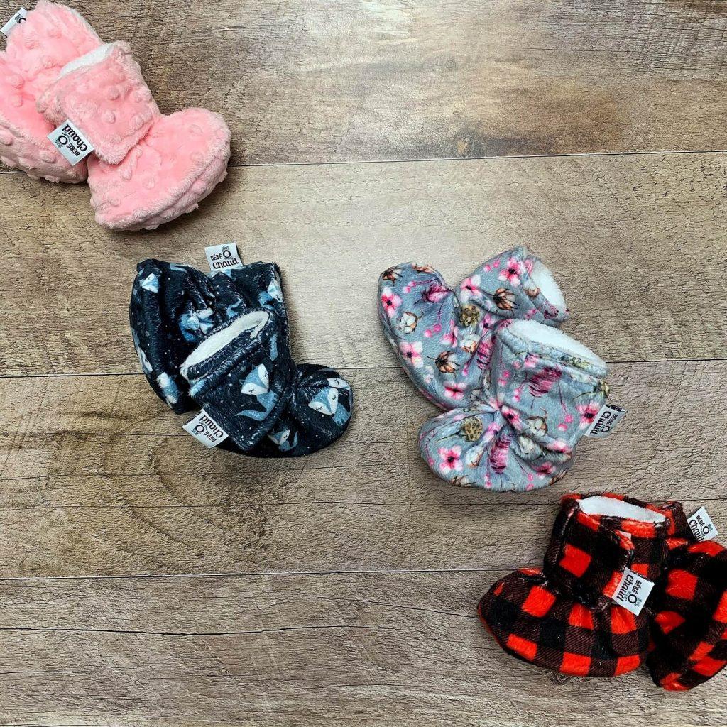 Pantoufles pour bébés Bébé O Chaud