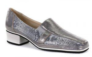 Chaussure à talon de petite pointure argent Amalfi