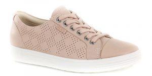 Chaussure décontractée de petite pointure Ecco rose