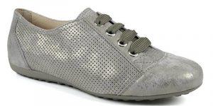 Chaussure décontractée gris métallisé de petite pointure Semler