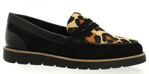 Chaussure décontractée de petite pointure léopard Vaneli