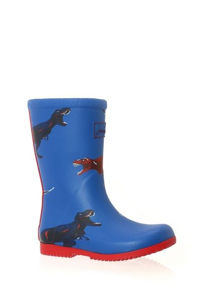 Joules ROOL UP WELLY Bleu