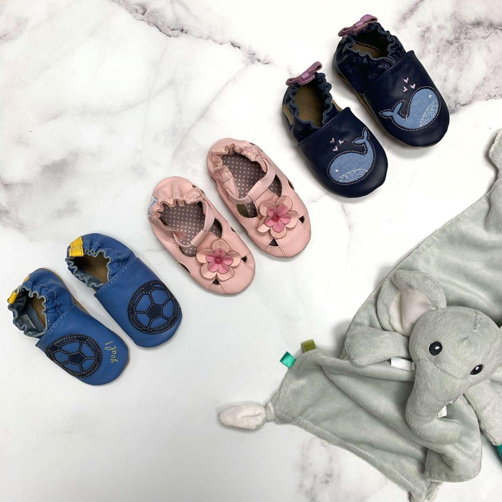 Pantoufles pour bébés Robeez