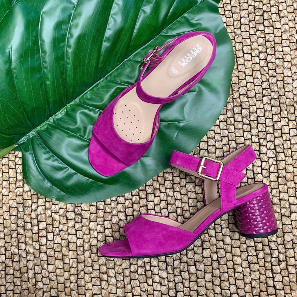 Sandales Geox fuchsia pour femmes
