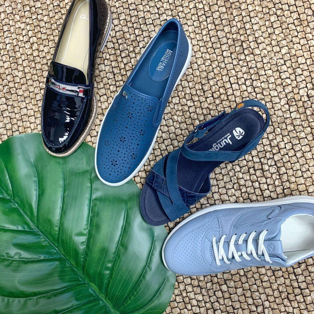 Chaussures bleus pour femmes