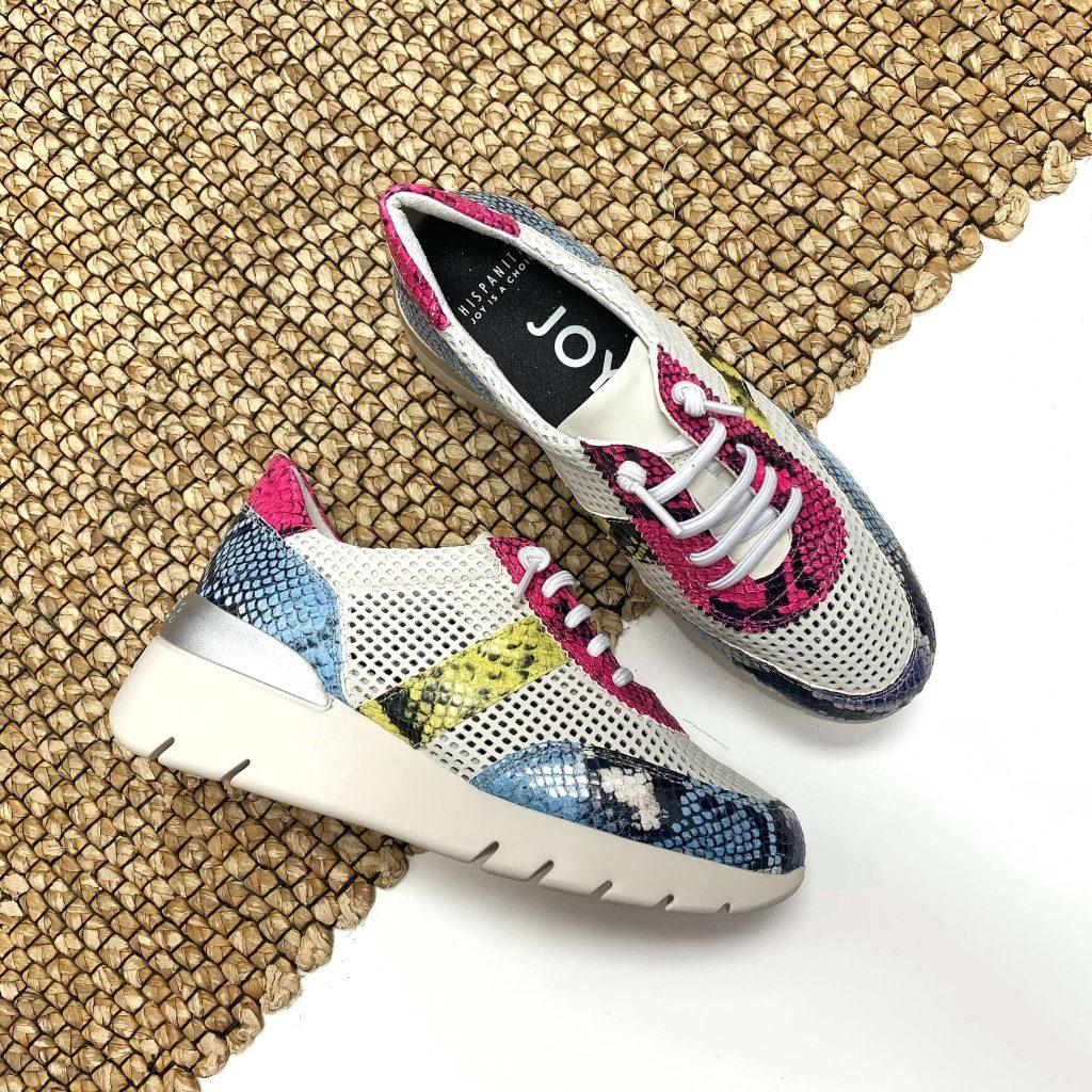 Chaussures Hispanitas à imprimés serpent pour femmes