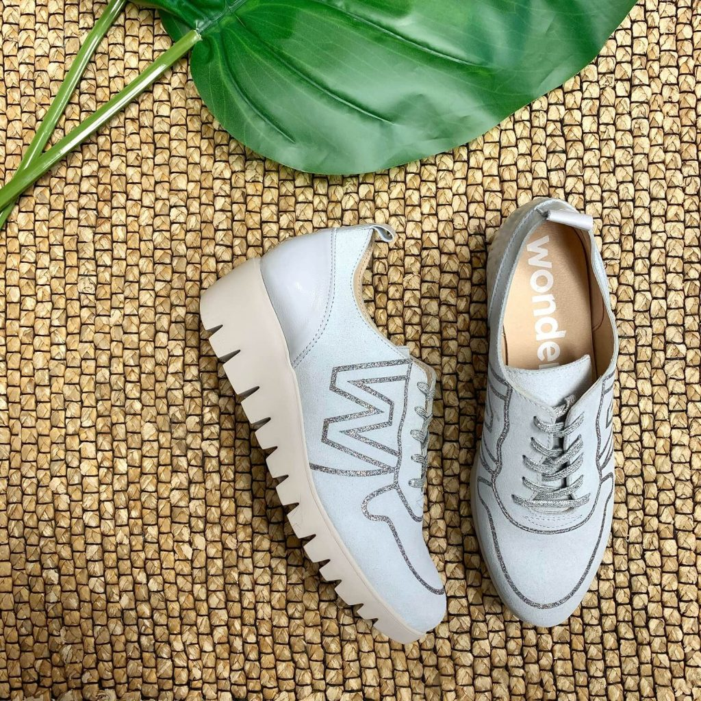 Chaussures sneakers Wonders pour femmes