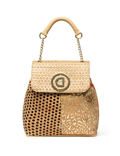 Desigual CORK PATCH DEN* Beige