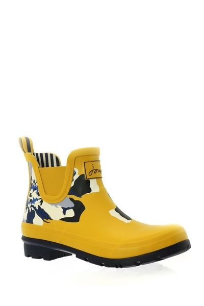 Joules WELLIES SHORT Jaune