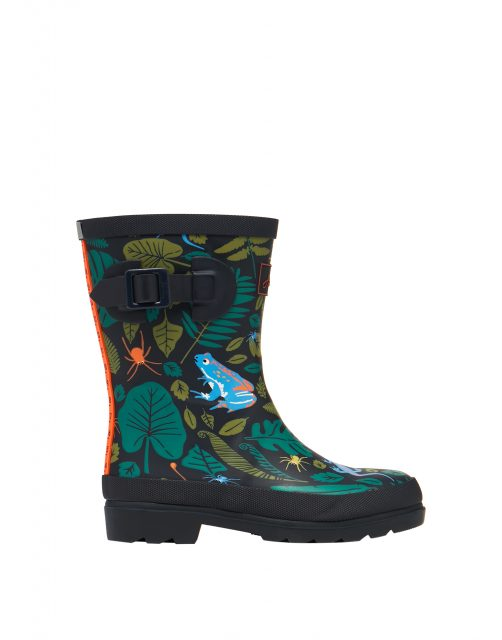 Joules JNR WELLY PRINT Marine