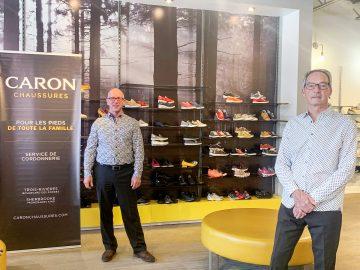 Caron Chaussures acquiert le commerce Grenier Chaussures de Drummondville