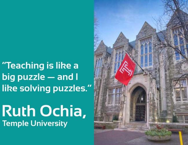 Faculty Spotlight: Ruth Ochia